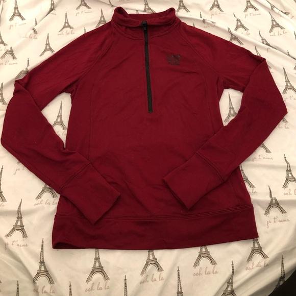 PINK Half Zip running jacket